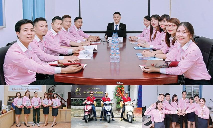 Công ty in Hồng Đăng xây dựng hình ảnh chuyên nghiệp để phát triển